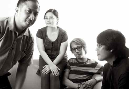 The Gentle Isolation (from L-R: Monch Cristobal, Ness Urian, Bachie Rudica and Joseph Rovero)