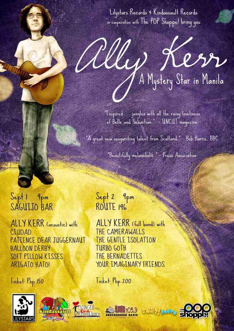 Ally Kerr: A Mystery Star In Manila