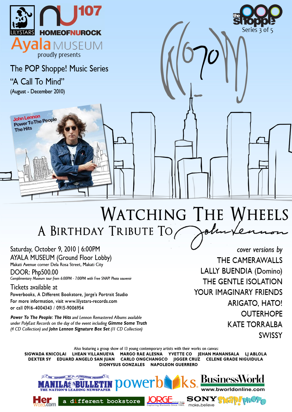 Watching The Wheels: A Birthday Tribute to John Lennon