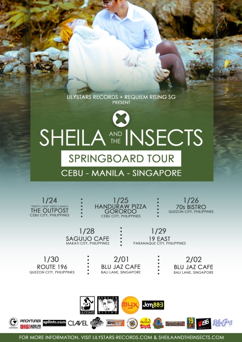 SATI Springboard Tour Poster