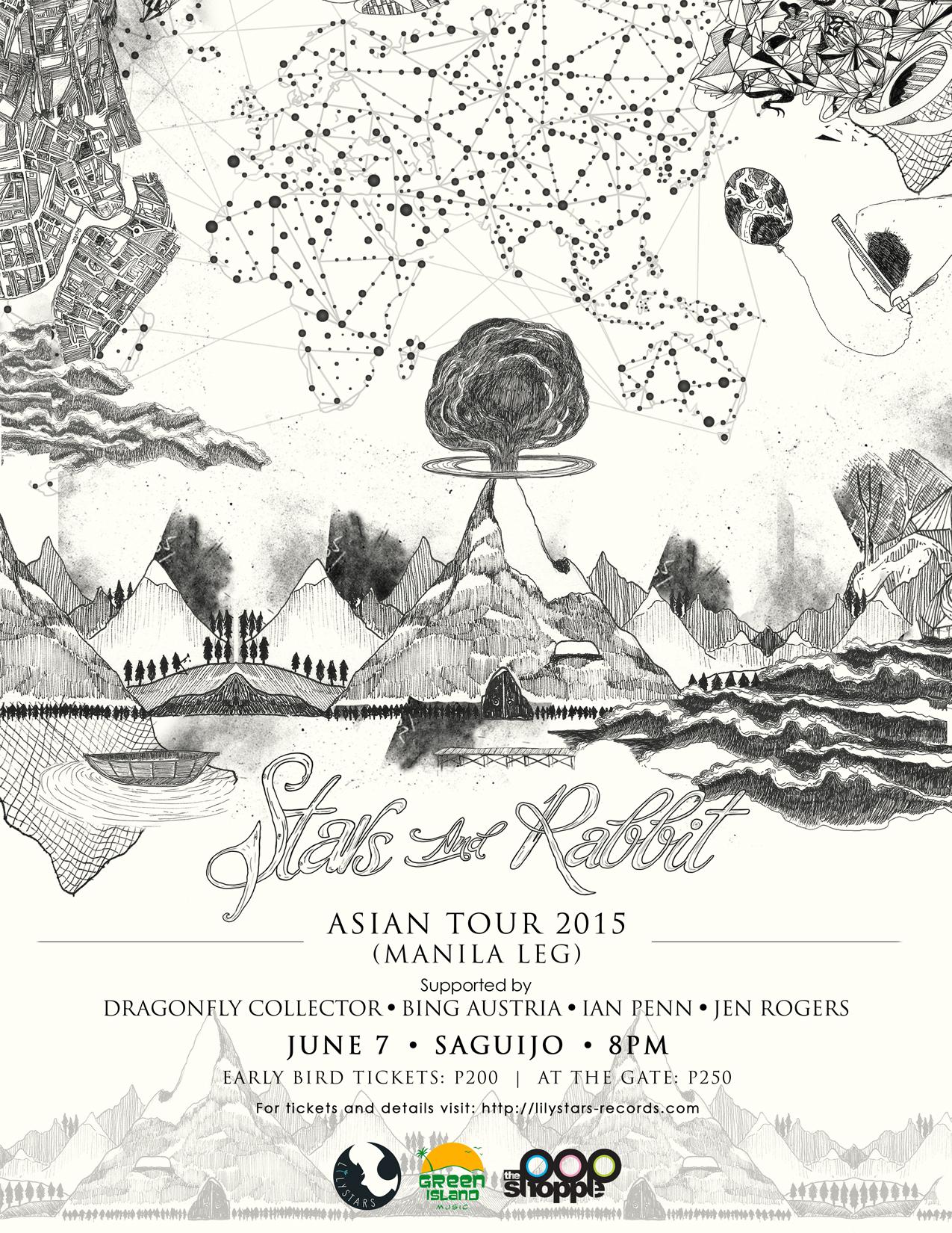 Stars and Rabbit Asian Tour 2015 (Manila Leg)
