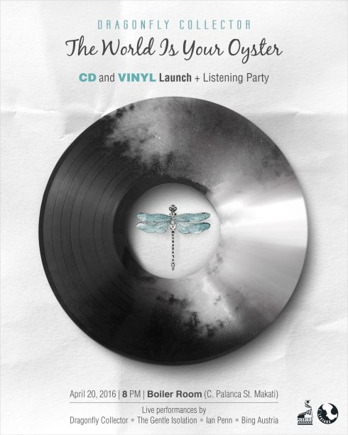 The World Is Your Oyster CD and Vinyl Launch