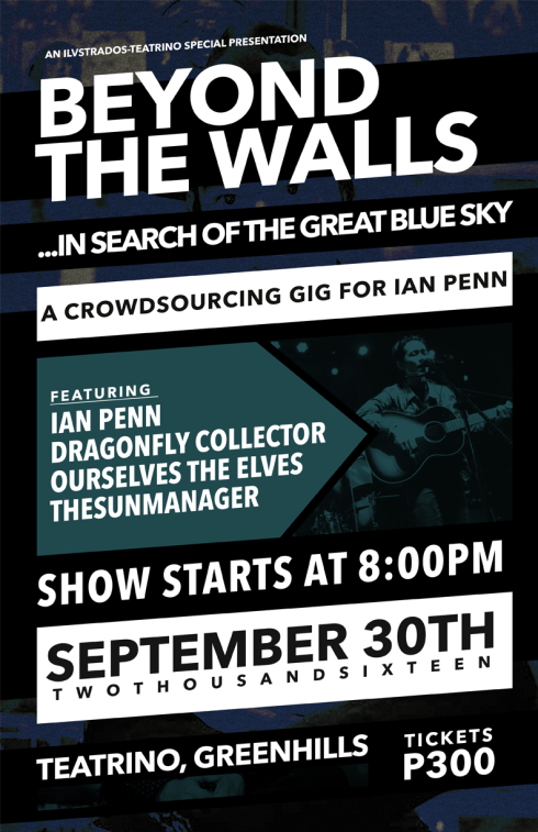BEYOND THE WALLS: A Crowdfunding Concert For Ian Penn