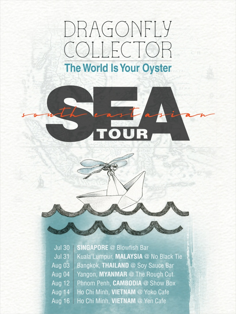 Dragonfly Collector: The World Is Your Oyster Southeast Asian Tour