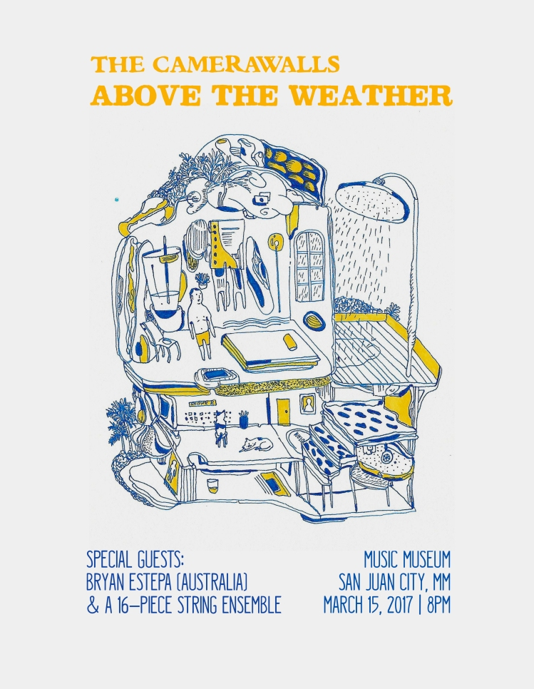 THE CAMERAWALLS - Above The Weather